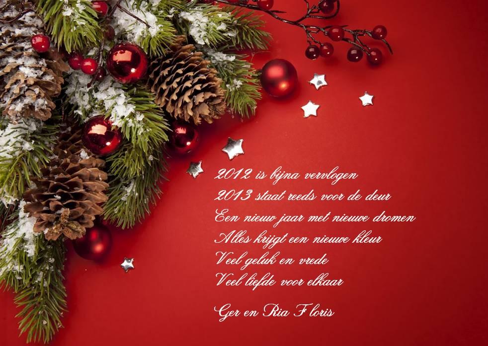 Kerst en Nieuwjaarswens Ger en Ria Floris: www.trikers.nl/familie-post.html